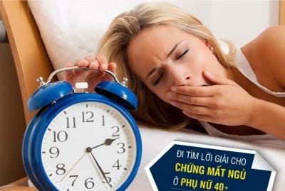 Bí quyết điều trị mất ngủ ở phụ nữ mãn kinh hiệu quả nhất