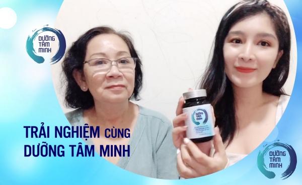 Bác gái tại TP HCM chia sẻ về bệnh lý rối loạn tiền đình và hiệu quả của sản phẩm Dưỡng Tâm Minh